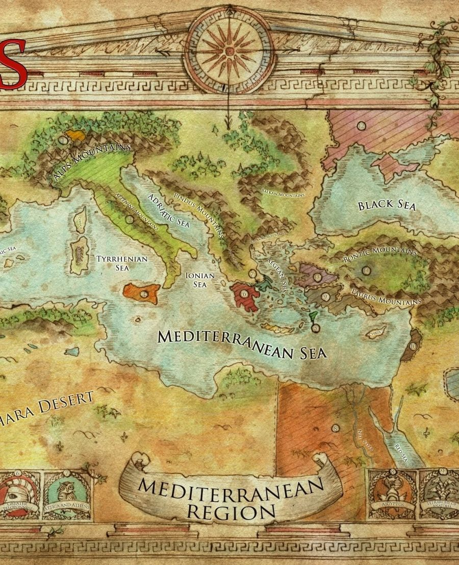 Mediterranean campaign map swords of kos fantasy campaign setting mediterranean campaign map swords of kos fantasy campaign setting skirmisher publishing swords gumiabroncs Choice Image