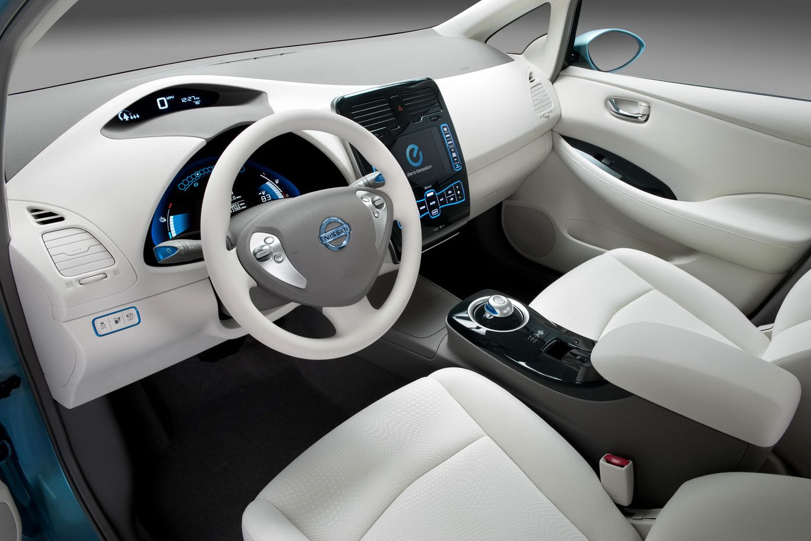 The Nissan Leaf Interior