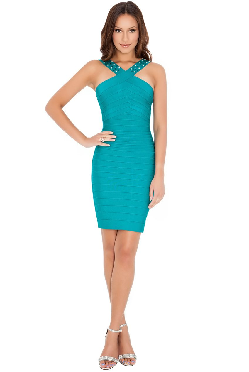 CROSS OVER BODYCON DRESS #bodycon #dress #fashion #citygoddess ...