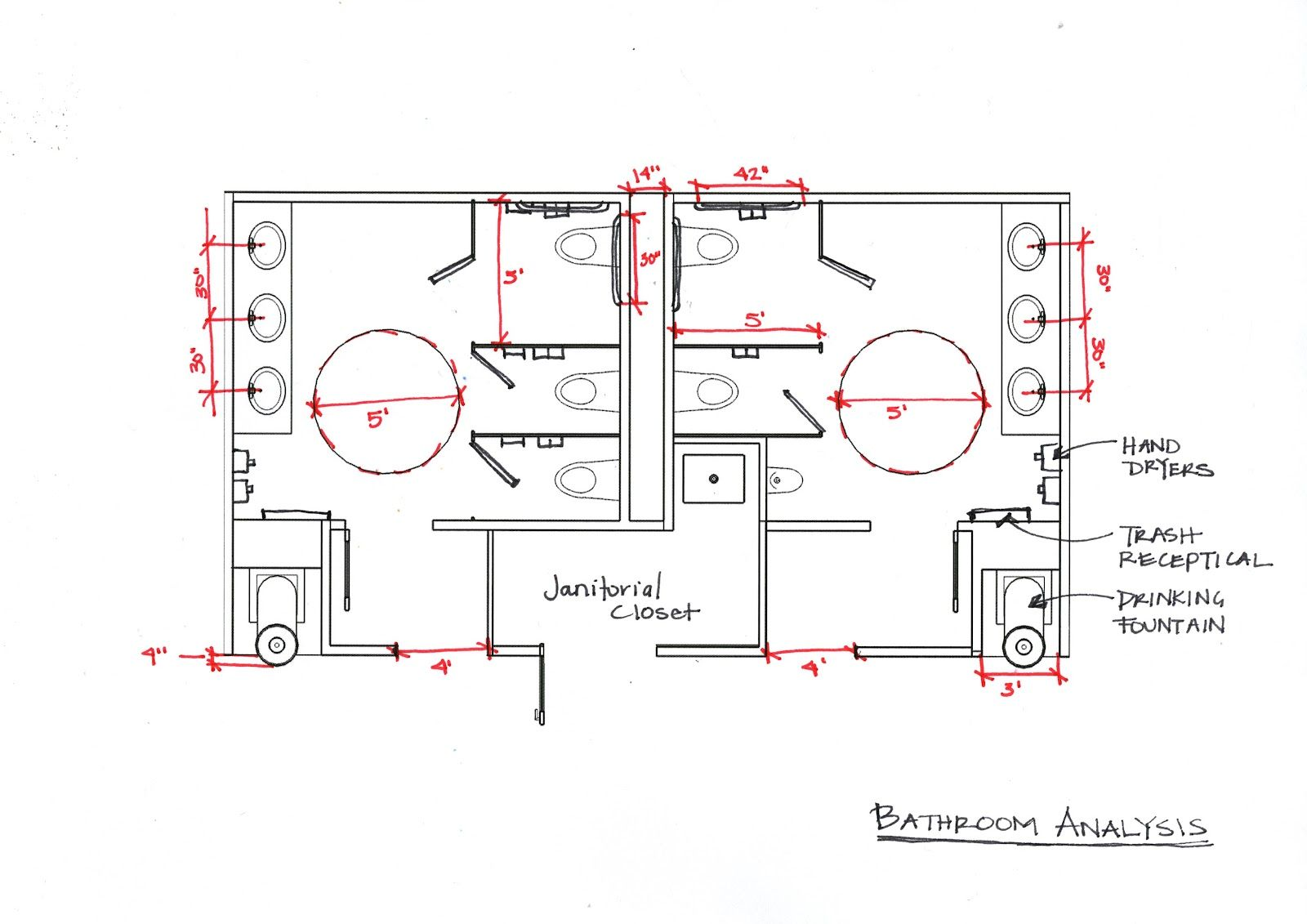 Incredible Awesome Handicap Bathroom Requirements 7 Ada Bathroom ...