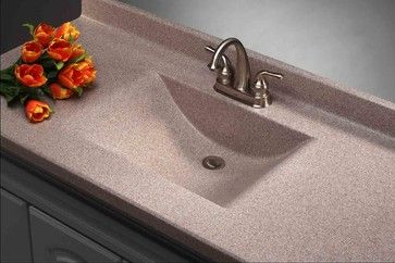 Imperial Satin Stone Vanity Top Modern Bathroom Countertops
