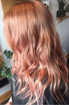 Image result for light brown to rose gold ombre