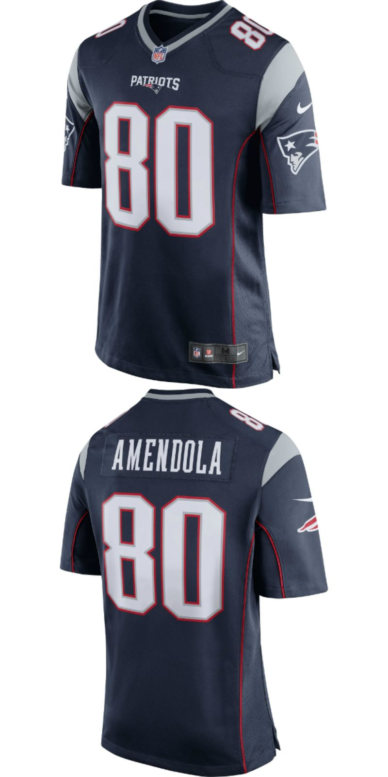 premium selection 6aad0 6c058 UP TO 70% OFF. Danny Amendola New England Patriots Nike Game ...