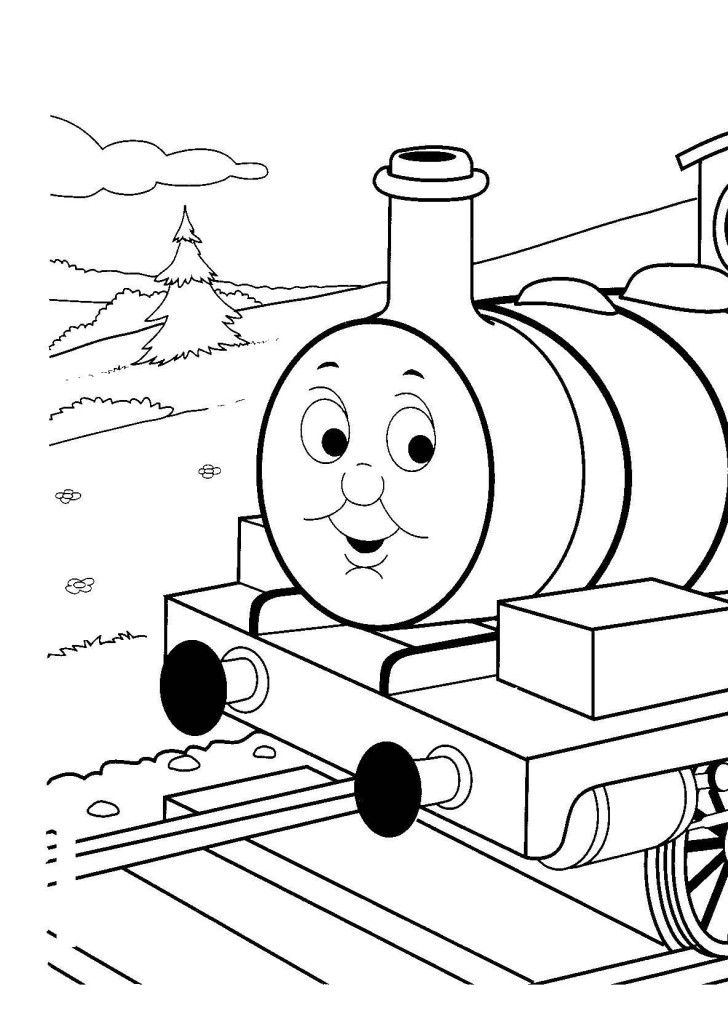 Thomas The Train Coloring Book #698   Pics to Color   coloring 3 ...