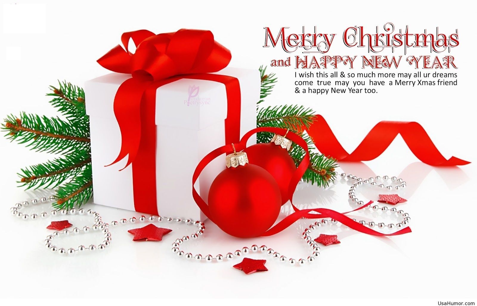 HD Wallpapers Merry Christmas And Happy New Year Sayings Quotes