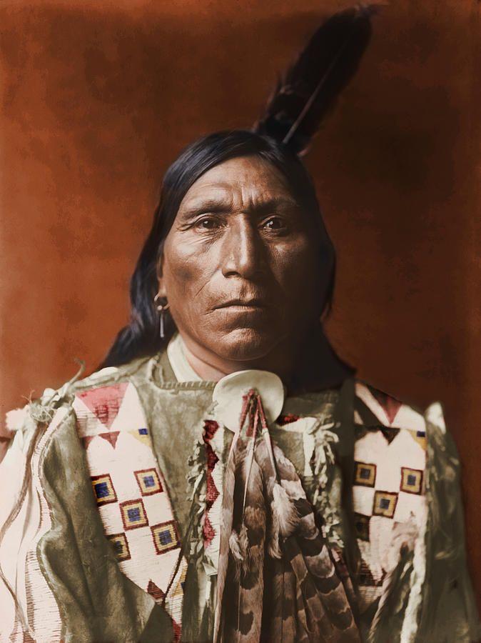 Photo of Little Hawk – Brule – American Indian by Dan Keller