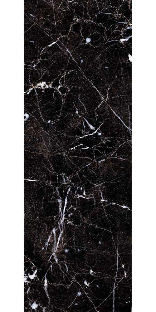 Black Carrara Marble Effect Tiles Raffinato Lilla Marble
