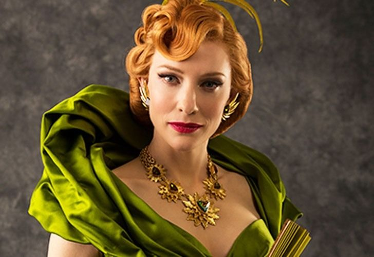 Cate Blanchett as Lady Tremaine