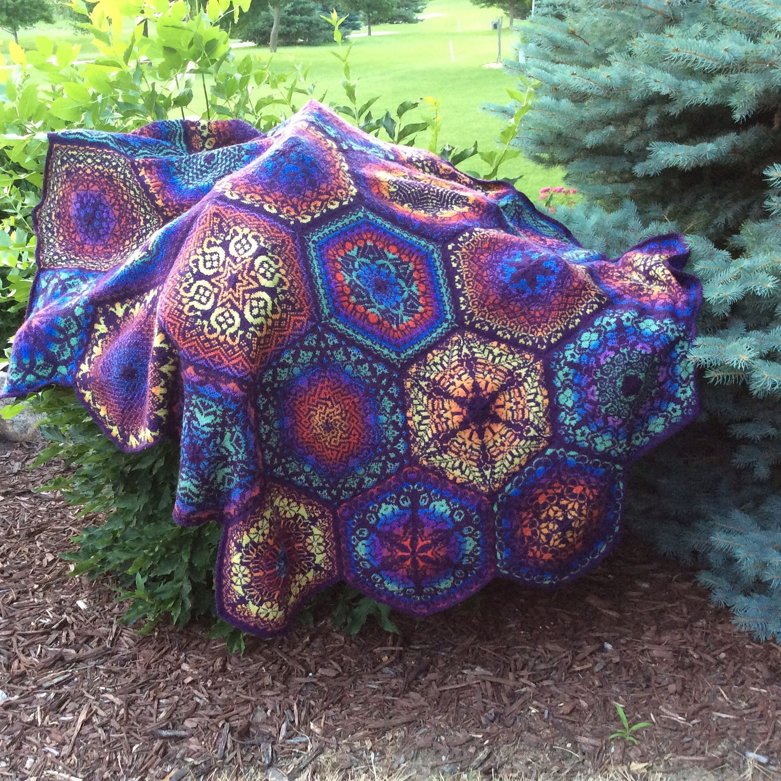 Persian Dreams pattern by Jenise Hope