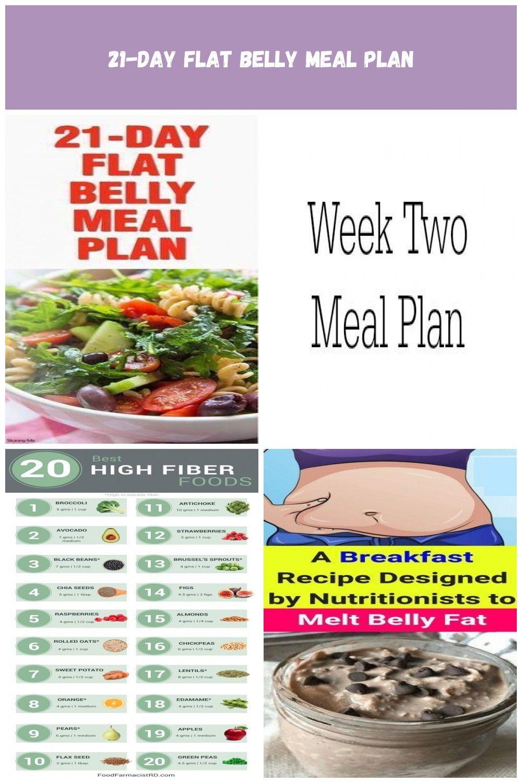 21 day flat diet