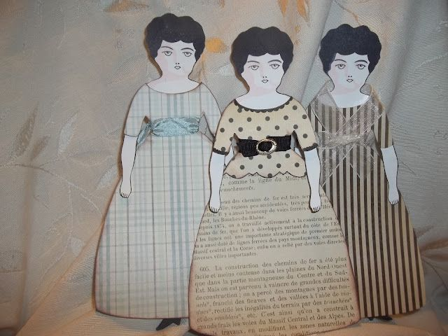 Doll Printables Vintage Stamp - Worksheet & Coloring Pages