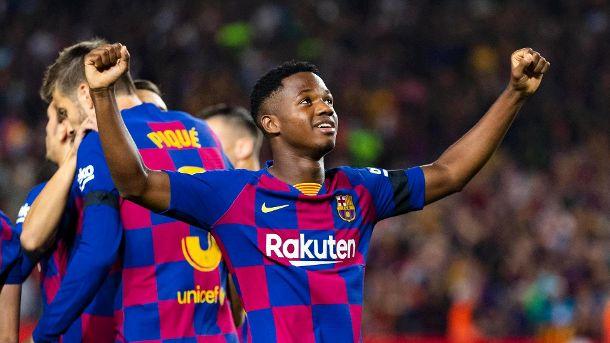 Dortmund S Bvb Fire Against Barcelona The Constellations Barca Starts With Wonder Kid Ansu Fati Barcelona Football Modern Ghana Dortmund