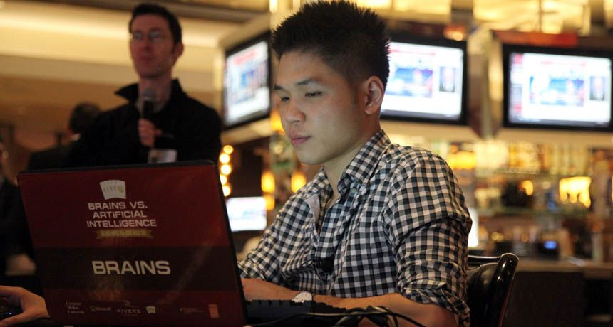Computer program rivals top poker players in complex card