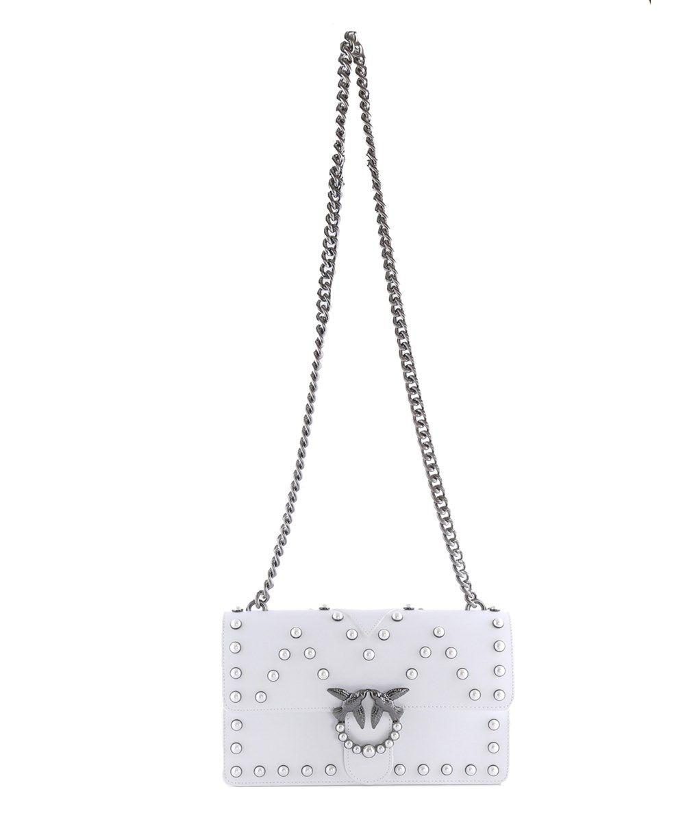 5fc89ad4ea6 PINKO Pinko Women's White Leather Shoulder Bag. #pinko #bags #shoulder bags  #leather #
