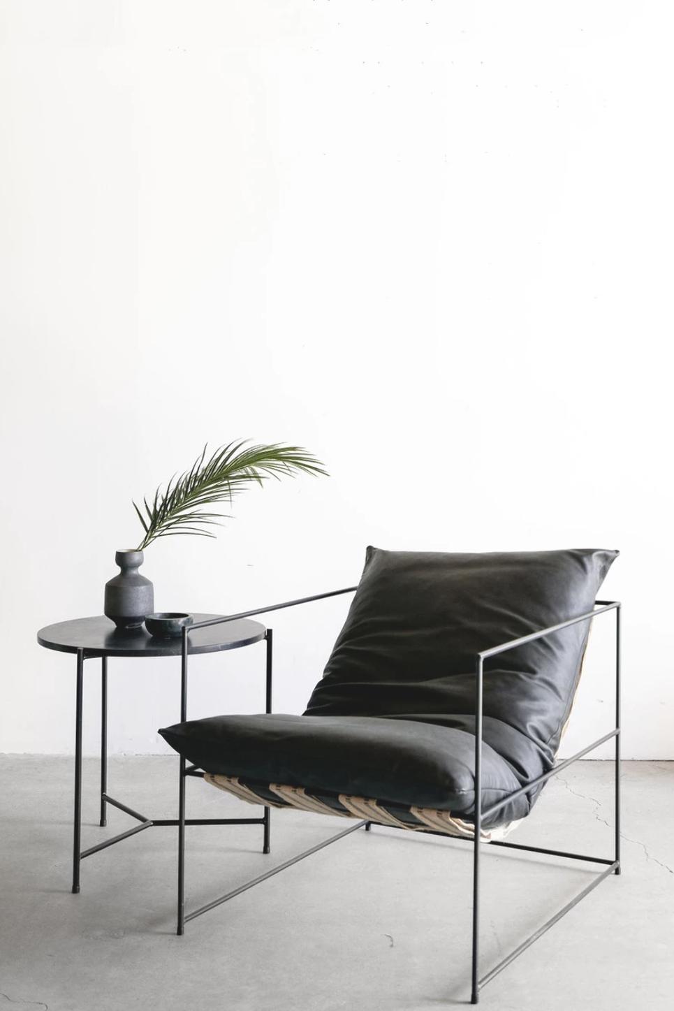 Leather Sierra Chair Croft House Design Studio La California Croft House Em 2020 Poltronas Sala De Estar Moveis De Aco Moveis