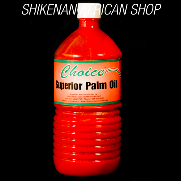 Red Palm Oil (32oz) by Superior - African Food