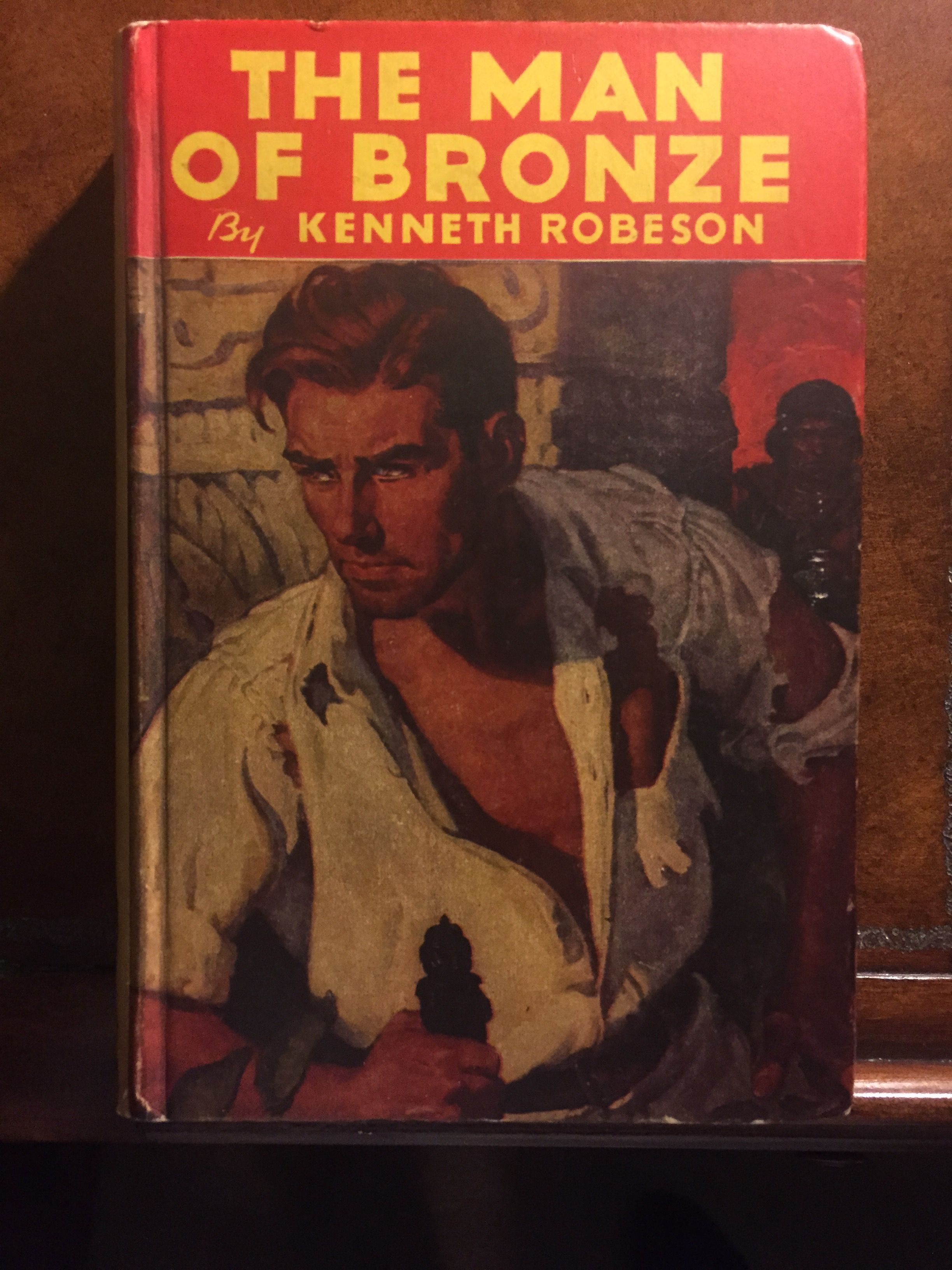 The Man of Bronze, Kenneth Robeson, Street and Smith hardcover