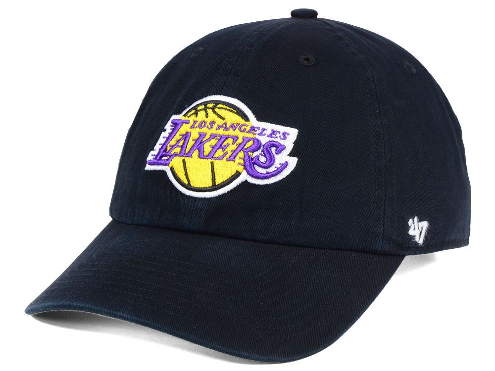 cc7fc9f09c5 Los Angeles Lakers  47 NBA  47 CLEAN UP Cap