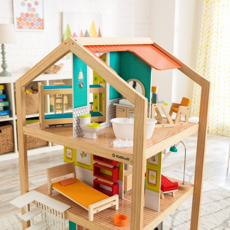 So Stylish Mansion Dollhouse With Ez Kraft Assembly Mansion