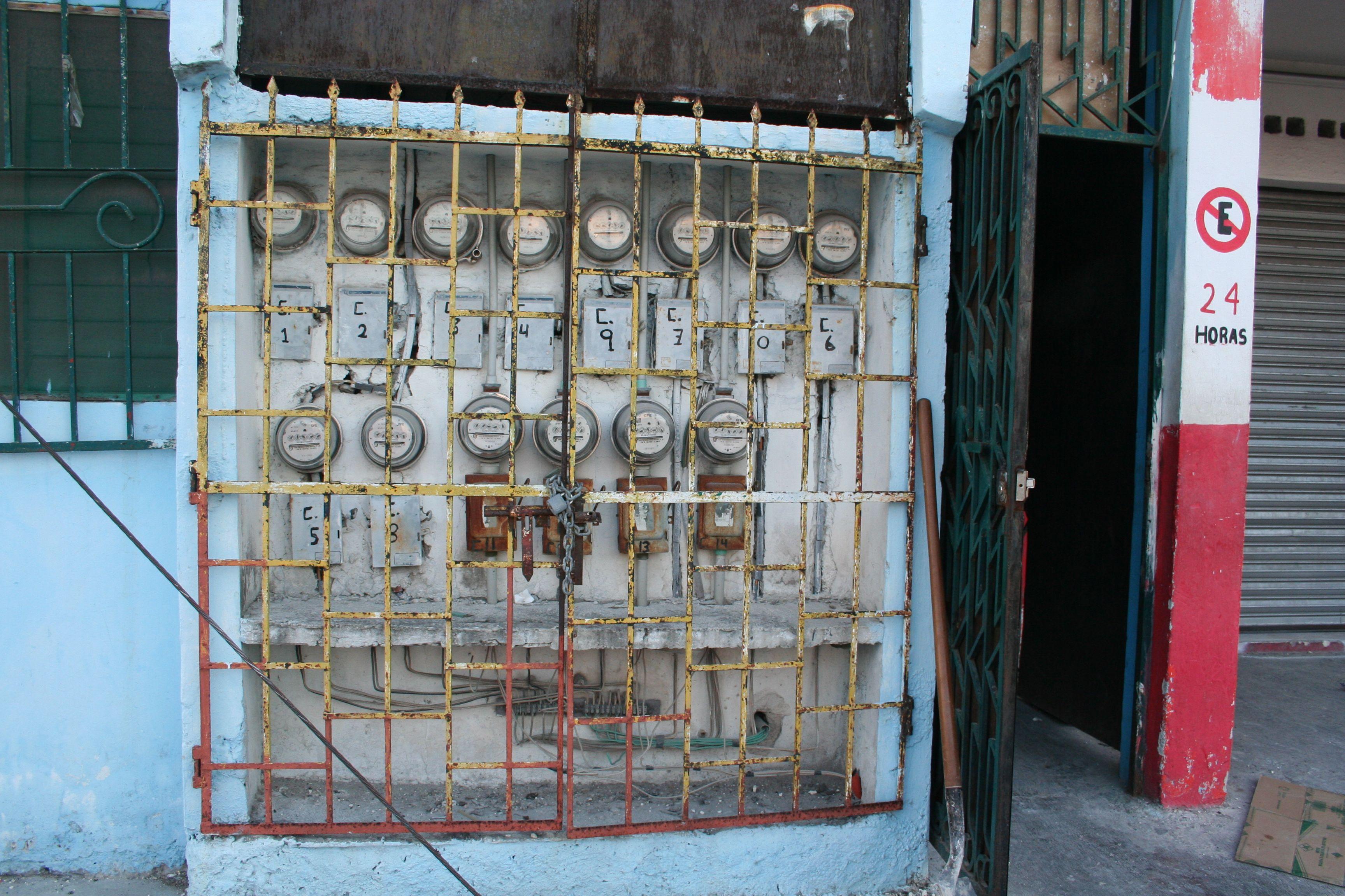 Compteurs électriques Mexique, Playa Del Carmen