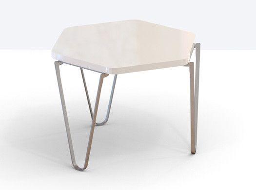 V1 Hexagonal Modular Coffee Table White Coffee Table White
