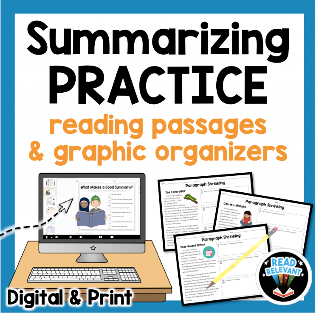 How To Teach Summarizing So Students Really Get It Pin Hairs