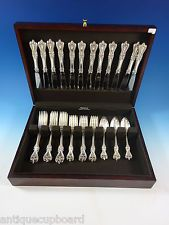 OLD COLONIAL BY TOWLE STERLING SILVER FLATWARE SET FOR 12 SERVICE 48 PIECES