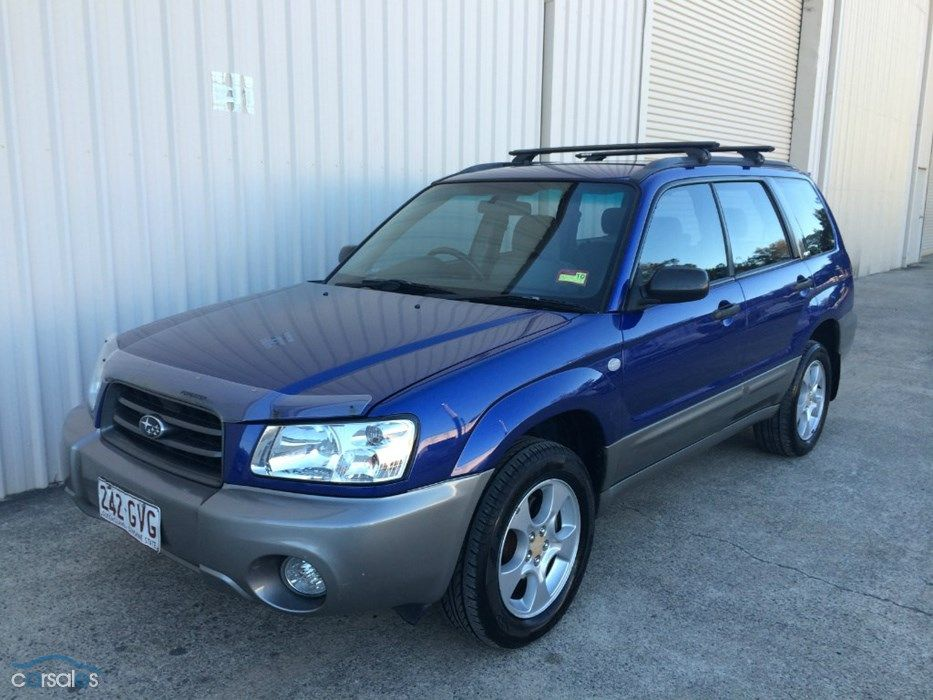 2002 Subaru Forester 79V XS MY03 All Wheel Drive (With