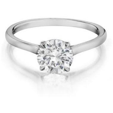 H02 (#H02) - Engagement Rings - Henri Daussi - Designers Splash | Geoffrey's Diamonds and Goldsmith | San Carlos, CA
