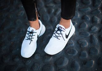 631d19ad3816 shoes nike white nikes white nike women fashion white shoes tumblr pale sneakers  nikes