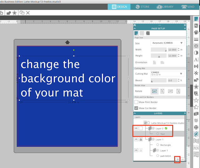 How To Change The Color Of A Picture Mat
