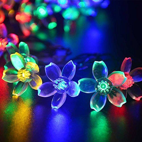 Christmas-Flower-Starry-Fairy-String-Lights-33ft-100LED-Blossom-Decorative-Light-for-Garden-Patio-Christmas-Tree-Party-Bedroom-Indoor-and-Outdoor-decorations-6-Color-Optional