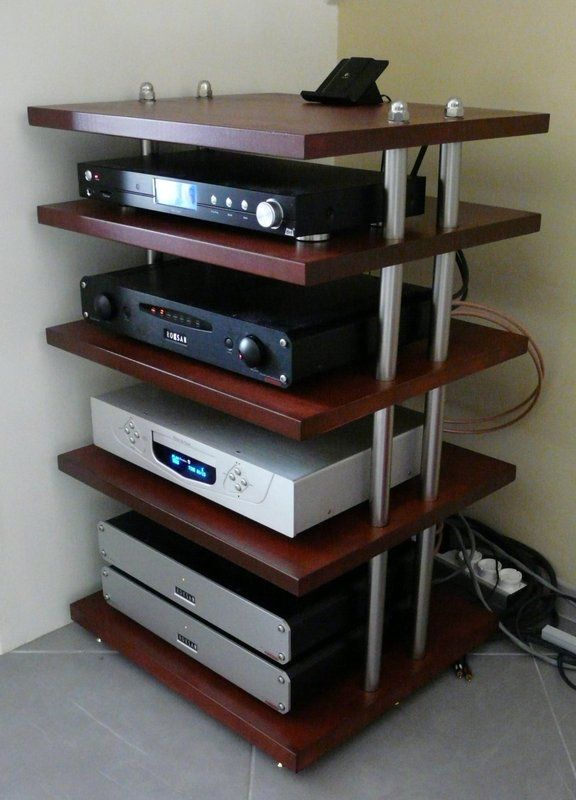 Diy Hifi Rack Ikea Hifi Furniture Diy | Vinyl Record Storage | Audio Rack