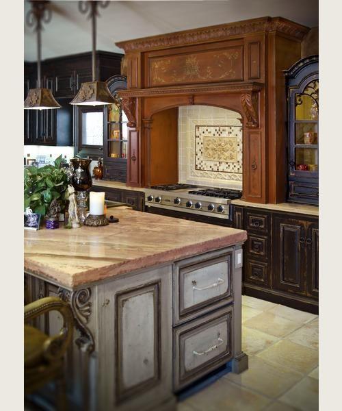 Habersham Cabinets Kitchen: Habersham - Venetian Hearth Range Hood