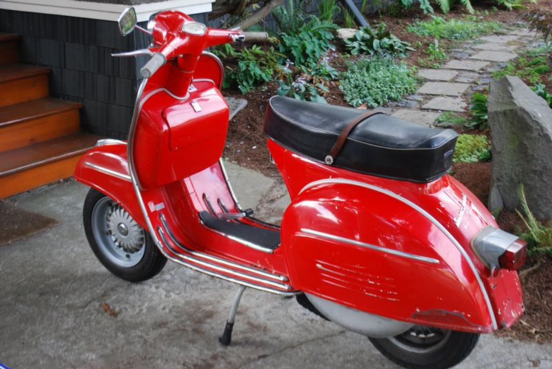 1968 vespa 180 ss modern vespa fs nice vespa ss180. Black Bedroom Furniture Sets. Home Design Ideas