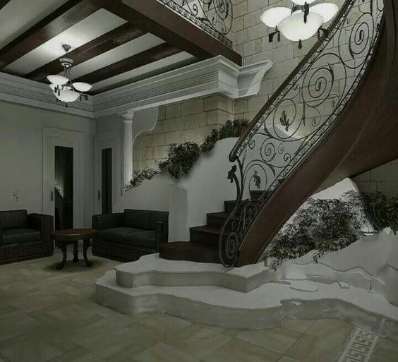 Modern Interior Staircase Materials Photo: Modern Stair Railing Design Ideas Trends 2019
