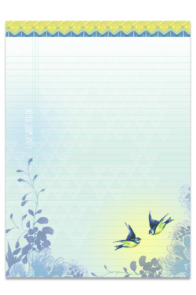 Schrijfblok Paisley Butterfly - Papaya | Pinterest | Hojas ...