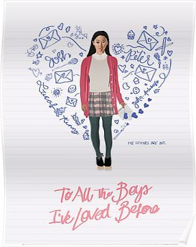 To All the Boys I've Loved Before Movie Poster Poster #netflixmovies