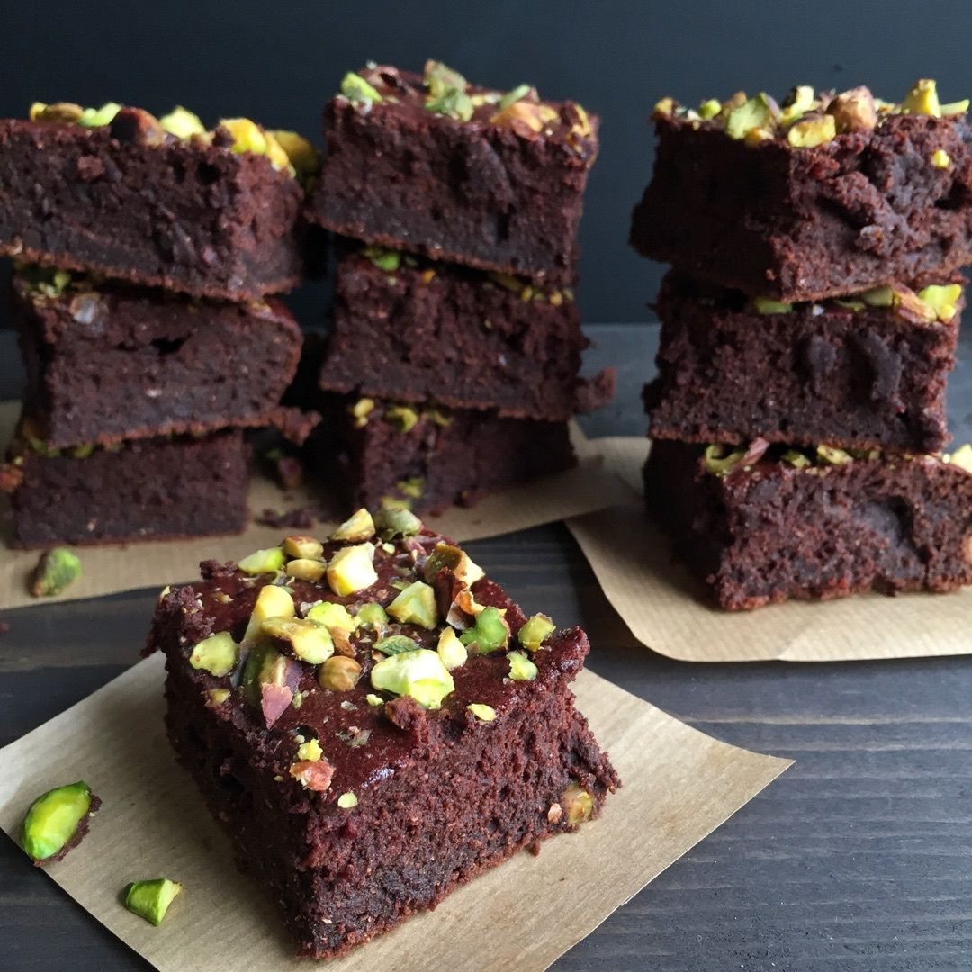 Beet & Chickpea Brownies Recipe by cravingsinamsterdam on #kitchenbowl
