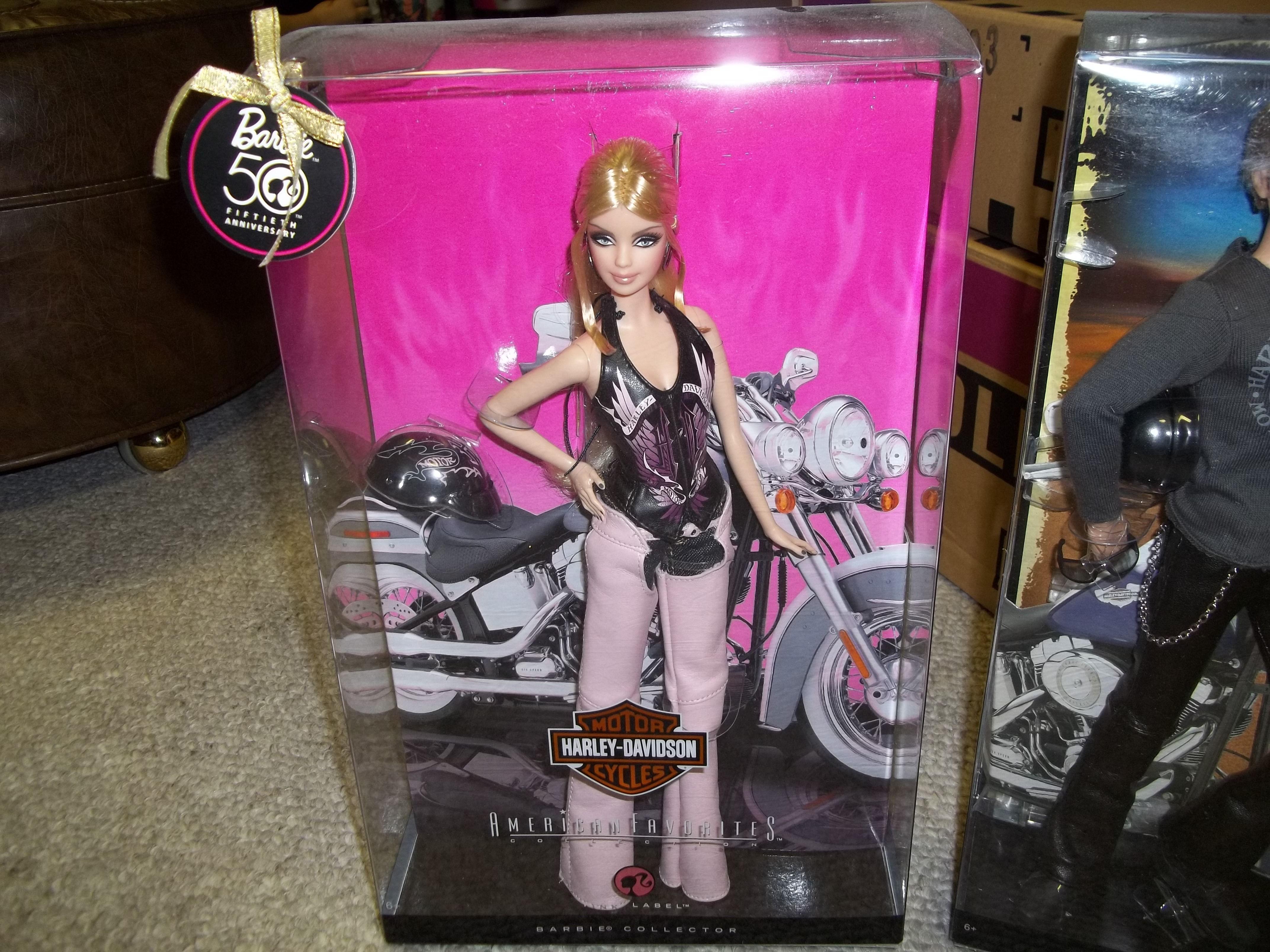Barbie Harley Davidson Motorcycle Barbies