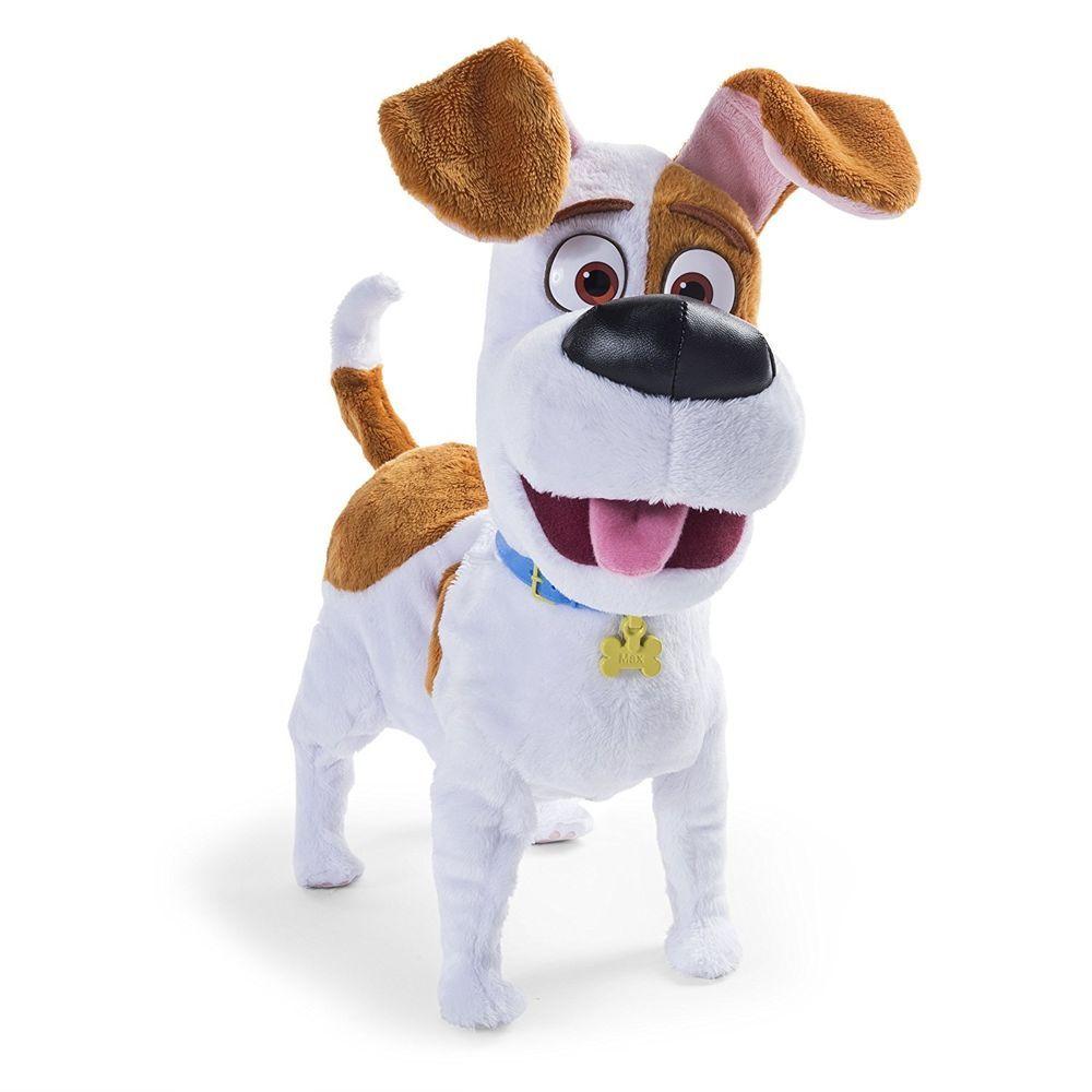 Max Walking Talking Dog The Secret Life Of Pets Plush Toy Best Friend Kids New Thesecretlifeofpets Secret Life Of Pets Cool Pets Pets
