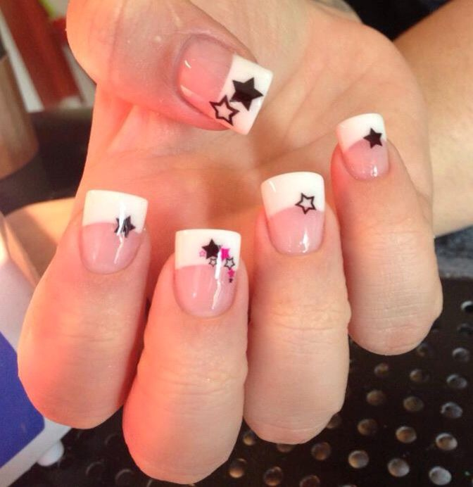 Pin By Statyra Simpson On Nails Star Nail Designs Star Nail Art Nail Art Designs