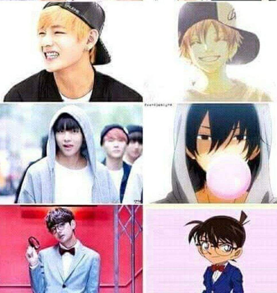 BTS AS ANIME CHARACTERS!? Anime characters, Anime, Bts