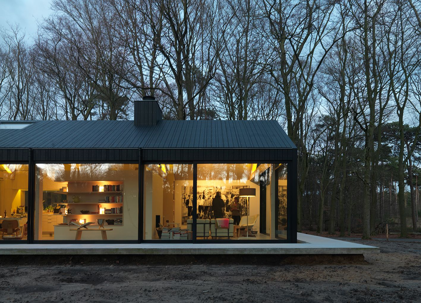 Functionals.eu and van-esch.com owner has built his new house in the woods of Oisterwijk (NL) Architecture: Jacq de Brouwer from BedauxdeBrouwer Goirle (NL) Photography: Michel Kivits (NL) 22-2-2015