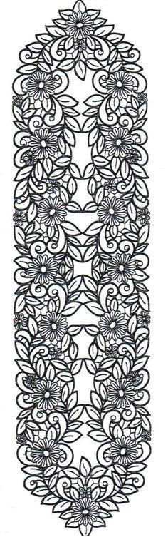 pingl par nathalie meyers sur coloriage frise bordure broderie dentelle de papier et. Black Bedroom Furniture Sets. Home Design Ideas