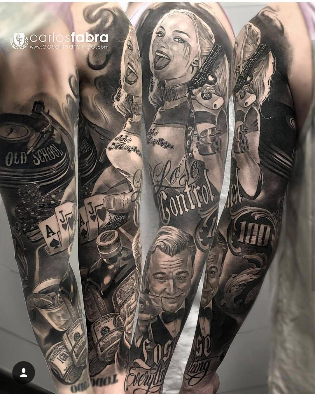 Pin By Sabrina On Tattoos Gangster Tattoos 6