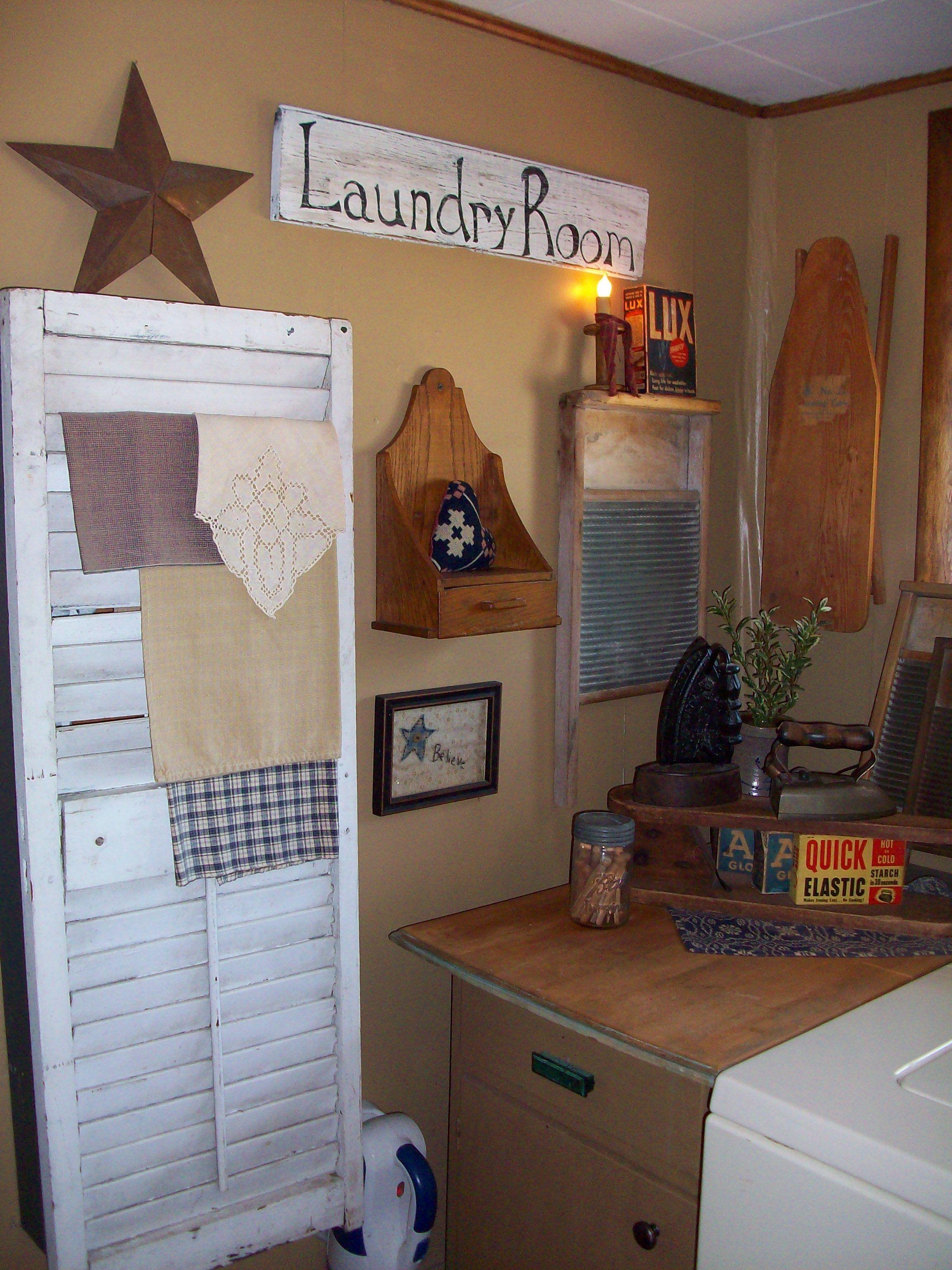 Laundry Room Laundry Room Decor Primitive Laundry Rooms Vintage Laundry Room