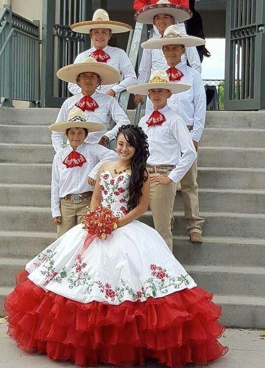 Vestido Charro Vestidos Charros De Quinceañera Vestidos