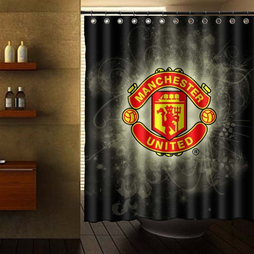 Shower Curtain 60 X 72 Manchester United Logo Unbranded