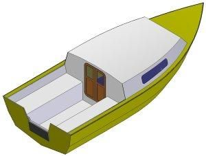 16ft Sea power - Boat plans for sale 5 people | plywood boat ...